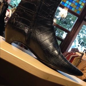 Dior Shoes - Dior knee high black leather boots sz 6.5